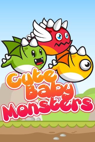 Cute Baby Monsters screenshot 1