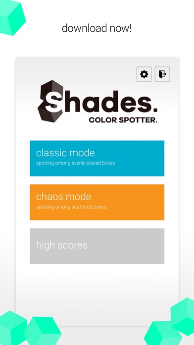 Shades. Color Spotter. Screenshot on iOS