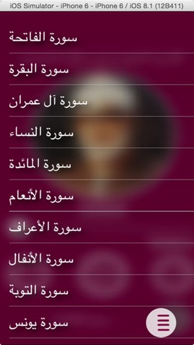 القارئ محمود الحصري - بدون انترنتلقطة شاشة1