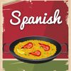 Spanish Food. Quick and Easy Cooking. Best cuisine traditional recipes & classic dishes. Cookbook