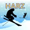 Harz Ski und Langlauf Karte