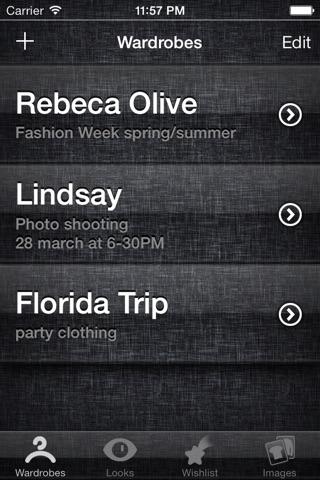 Wardrobe Assistant Pro screenshot 1