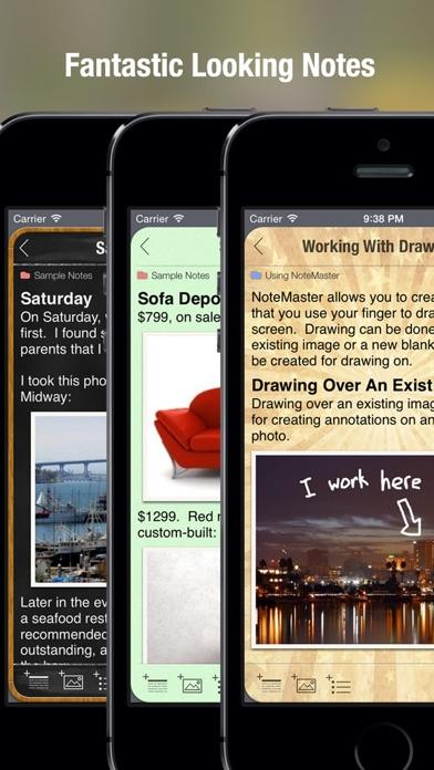 NoteMaster - amazing notes Screenshot