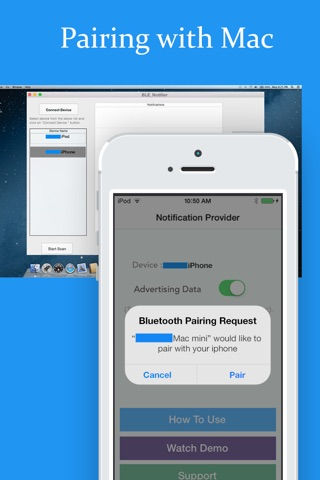 BLE Notification Provider - Receive iOS notification on Mac screenshot 3