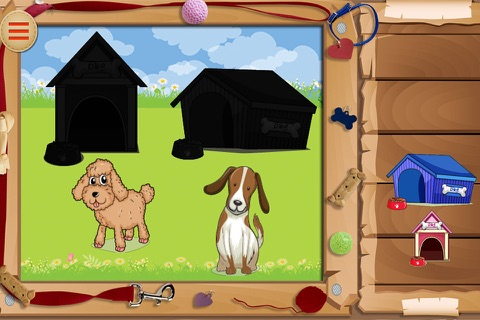 Baby Puzzles : Funny Dogs screenshot 1