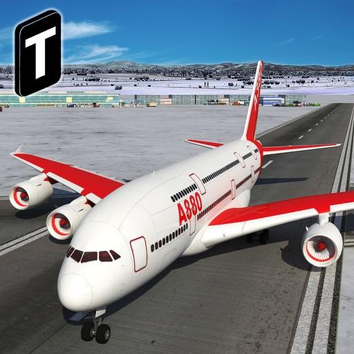 货运飞机着陆3d