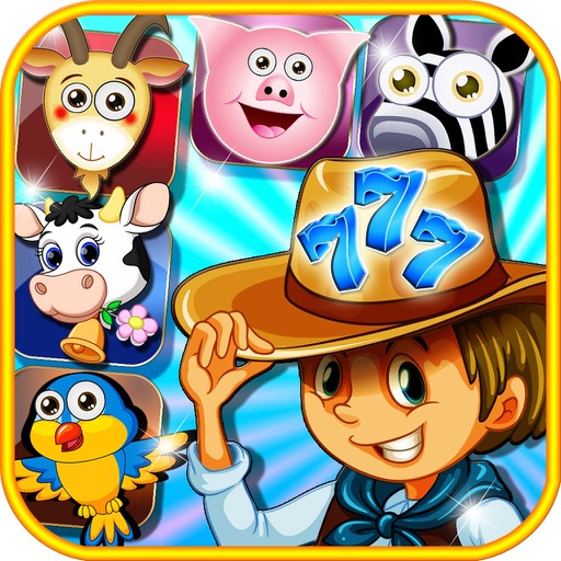 Farm Pet Slot - Nostalgic 777 High Roller Slot Machine iOS App