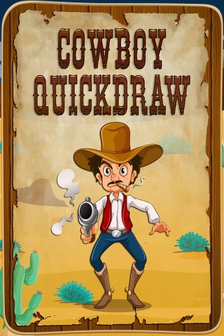 Cowboy Quickdraw - Wild West Shootout! screenshot 1