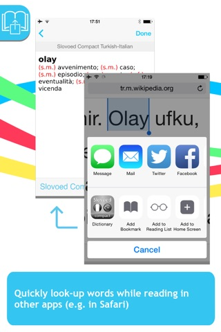 Italian <-> Turkish Slovoed Compact talking dictionary screenshot 3