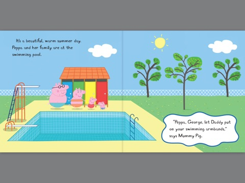 Peppa Goes Swimming Peppa Pig By Scholastic On Ibooks