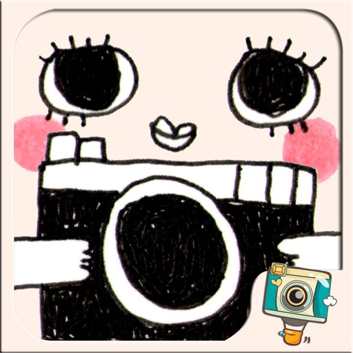 WeirdCamera by Photo Up – Funny cute doodle stamps Word Fram Filter Cartoon