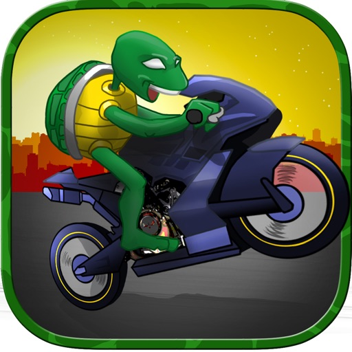 Insane Turtle Battle: Ninja Warrior Attack iOS App