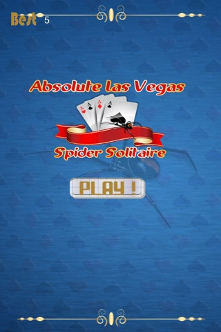 Absolute Las Vegas Spider Solitaire Game Pro screenshot 1