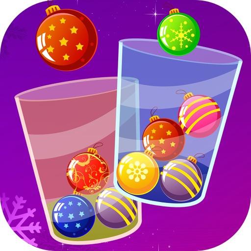 100 Christmas Crossy Balls - make it work for Santa! iOS App