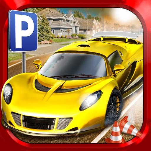 city driving test car parking simulator gratuit jeux de voiture de course par play with games ltd. Black Bedroom Furniture Sets. Home Design Ideas