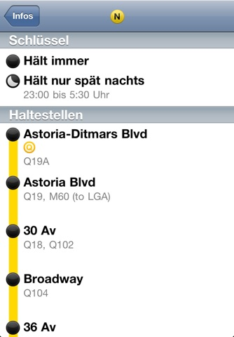 iTrans NYC Subway screenshot 4