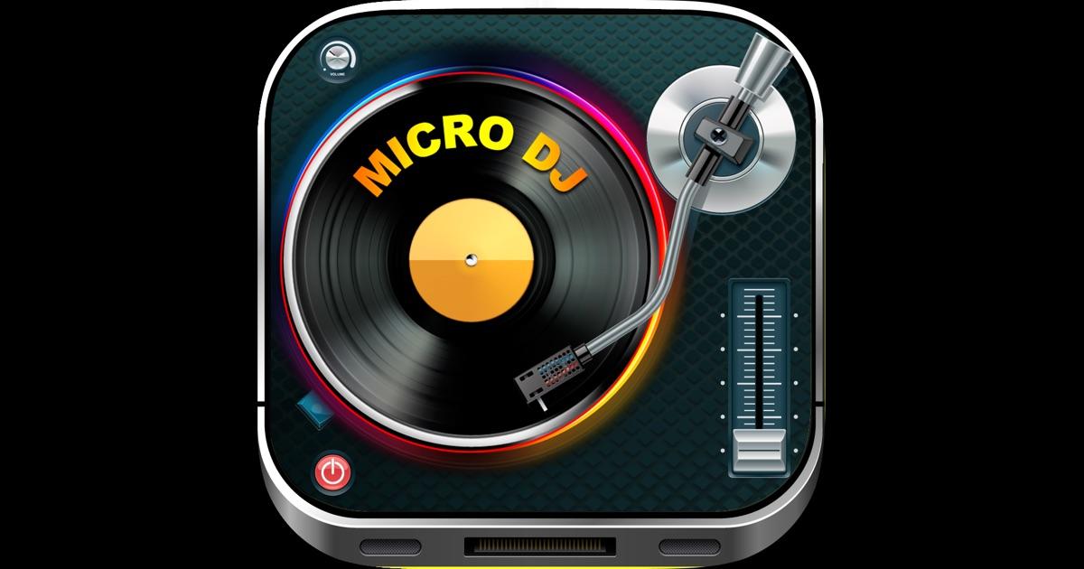 micro dj gratuit effets audio pour musique de f te et dition de chansons mp3 dans l app store. Black Bedroom Furniture Sets. Home Design Ideas
