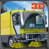 City Garbage Truck Simulator 3D – Drive trash vehicle & digger crane to sweep the roads