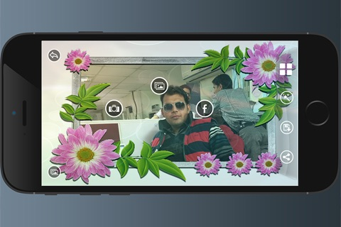 Flowers HD Photo Frames screenshot 4