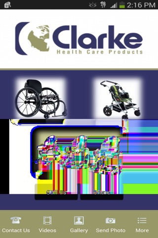 Clarke Healthcare Products screenshot 1
