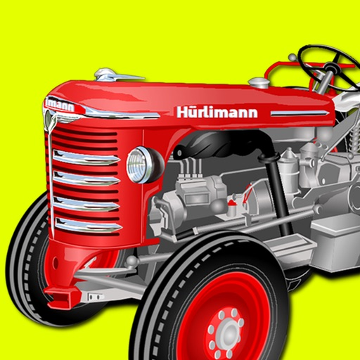 Tractor Jigsaw Puzzle Games for Kids for Free Icon