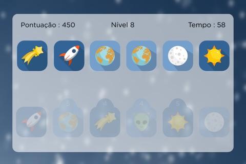 Space Match - Free Memory Game screenshot 2