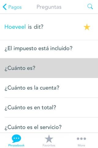 Libro de Frases con Voz del Español al Holandes: Traduce, Habla & Aprende Palabras y Frases Comunes para Viajes por el Traductor Odyssey screenshot 4