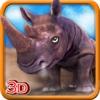 3D Rhino Simulator – Wild animal simulator and simulation game to destroy the city rslogix simulator