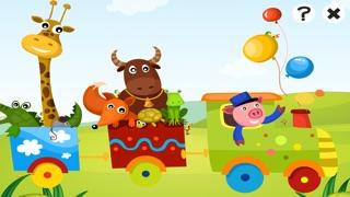 Actif! Jeu Pour Les Enfants À Apprendre et À Jouer Avec la Gare et AnimauxCapture d'écran de 1