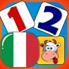 Bambino abbinare e Impara - numeri in italiano