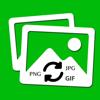Image Converter - Bild zu PNG, JPG, JPEG, GIF, TIFF