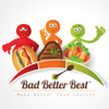 Bad, Better, Best Food Choices – Personal Diet Tracking, Healthy Food Recommendations & Weight Loss Planner