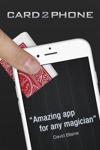 Card2Phone screenshot 1