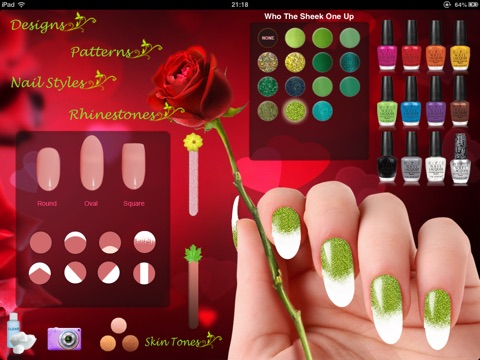 Natural nail designs for salon free on the app store ipad screenshot 3 prinsesfo Image collections