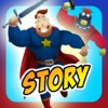 Schaffen Sie Meine Selbst Interaktiven Action Superhelden und Superschurken Geschichte Bücher Kostenlos Spielen