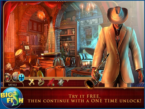 Cadenza: Music, Betrayal, and Death HD - A Hidden Object Detective Adventure screenshot 1