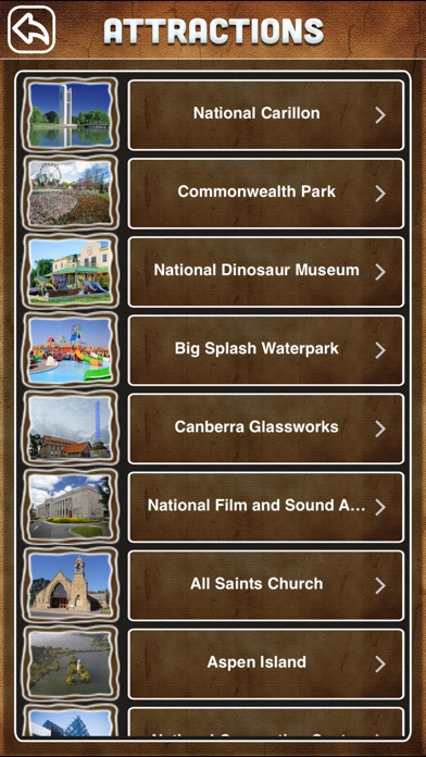 Canberra City Offline Tourism Guide screenshot three