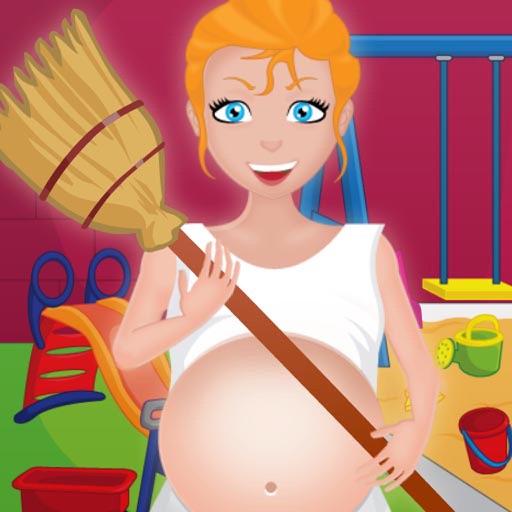 Pregnant Mommy Clean Garden iOS App