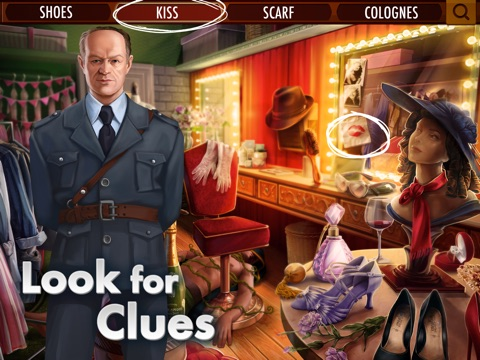 Screenshots of Agent Alice for iPad