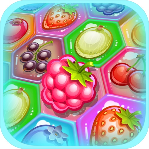 Berry Match Three PRO - A fun, yummy fruit switch-ing puzzle game! iOS App