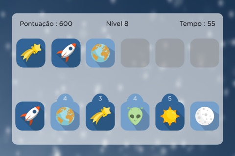 Space Match - Free Memory Game screenshot 1