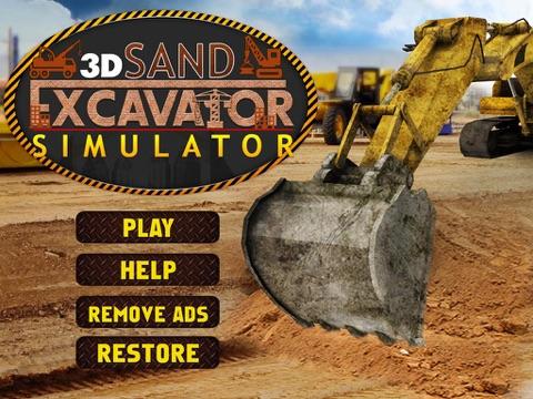 Скачать Песок экскаватор симулятор 3D - настоящий дальнобойщик и строительство моделирования игра