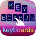 Pimp My Keyboard To Swipe & Type & Cool Fonts for iOS 8.1 icon