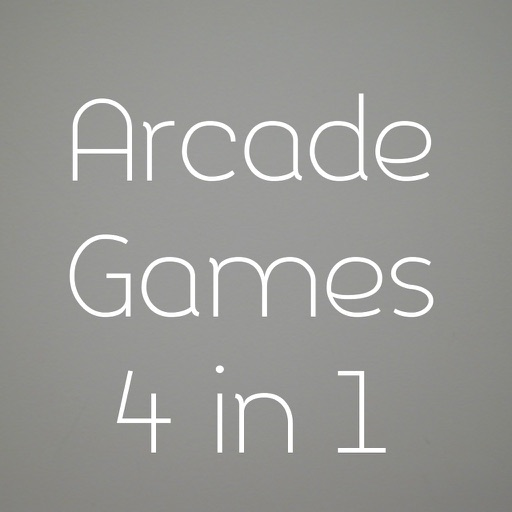 Arcade Games 4 in 1 iOS App