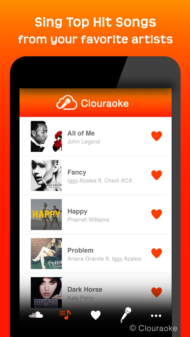 download Sing Free Music Karaoke MP3 Songs with Clouraoke - Stream Singing for SoundCloud apps 4