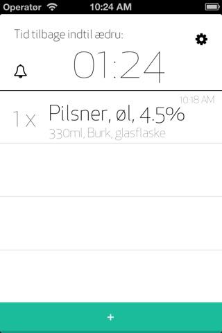 Calculate BAC screenshot 2