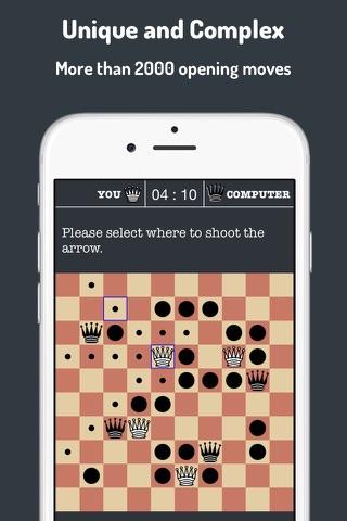 Amazons Board Game screenshot 2
