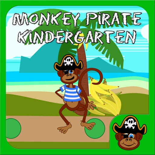 Pirate Monkey Kindergarten Free for iPad iOS App