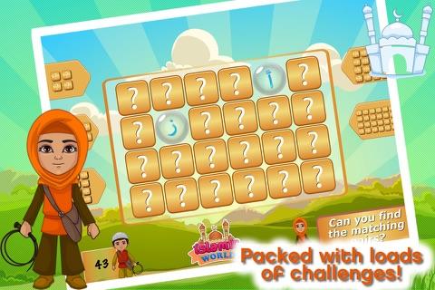 Islamic World - Match It! Games Edition Islamic Matching Pairs screenshot 1