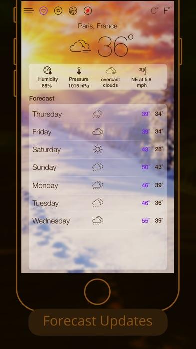 iWeather - Live ForecastScreenshot of 1
